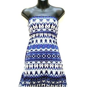 Cynthia's Rowley Ikat Convertible Maxi Skirt Dress